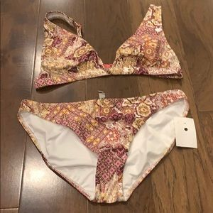 Ladies swimwear 2 piece size 8-10 brand new